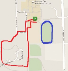 1 Mile Summer Route